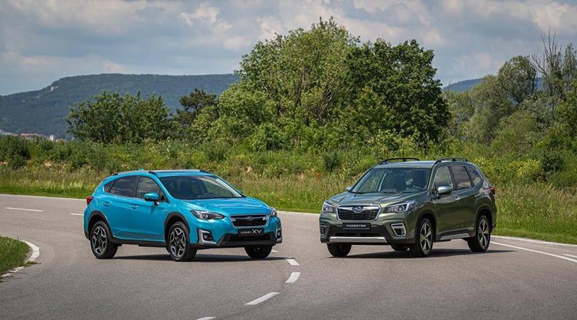 Subaru XV y Subaru Forester Eco Hybrid
