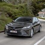 Toyota Camry dinámica perfil