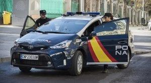 Toyota Prius+ Policía Nacional