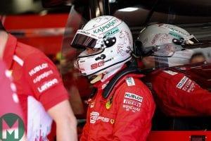 Vettel en el GP de Francia