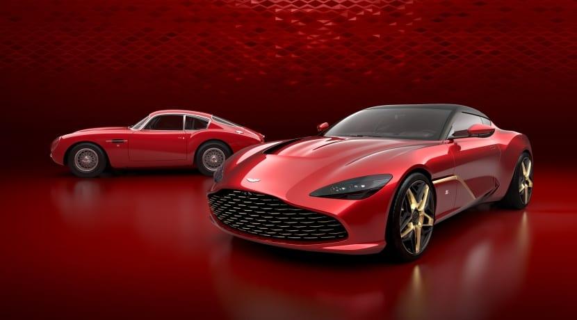 Aston Martin DBS GT Zagato frontal