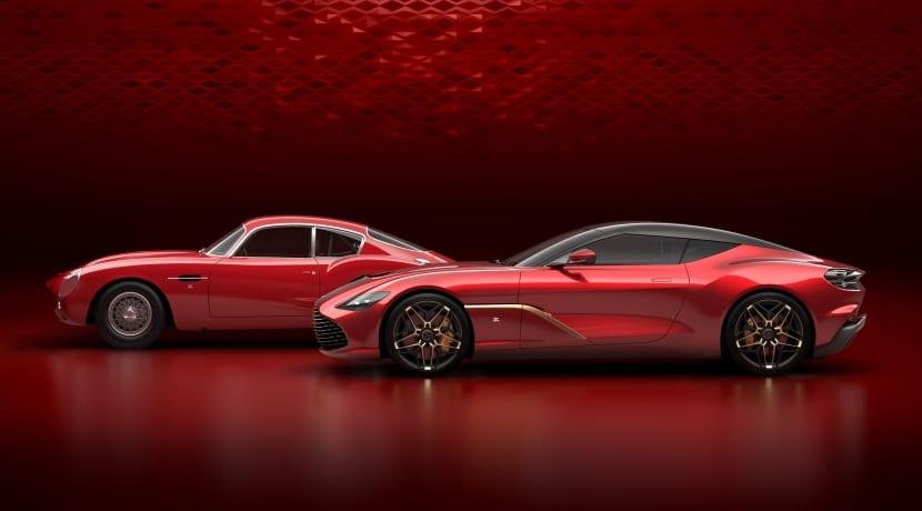Aston Martin DBS GT Zagato lateral