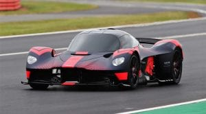 Aston Martin Valkyrie en Silverstone