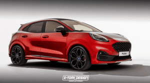 Ford Puma ST X-Tomi Design render