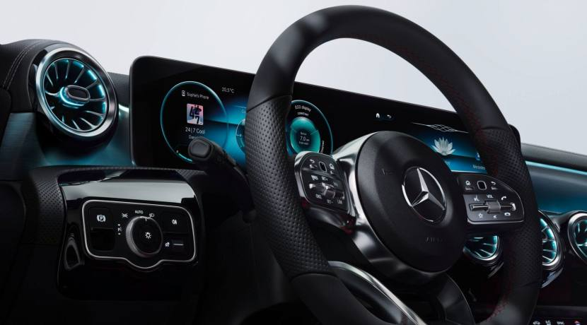 Mercedes-Benz Clase A interior