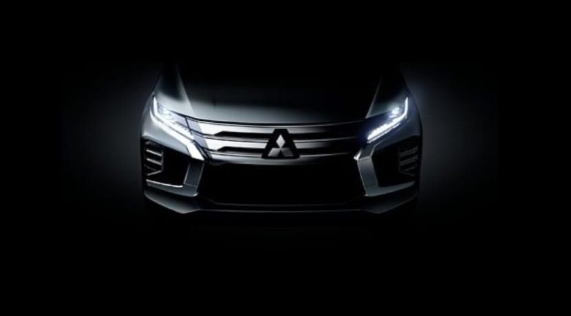 Mitsubishi Montero Sport 2019 teaser