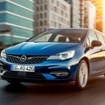 Opel Astra Sports Tourer frontal