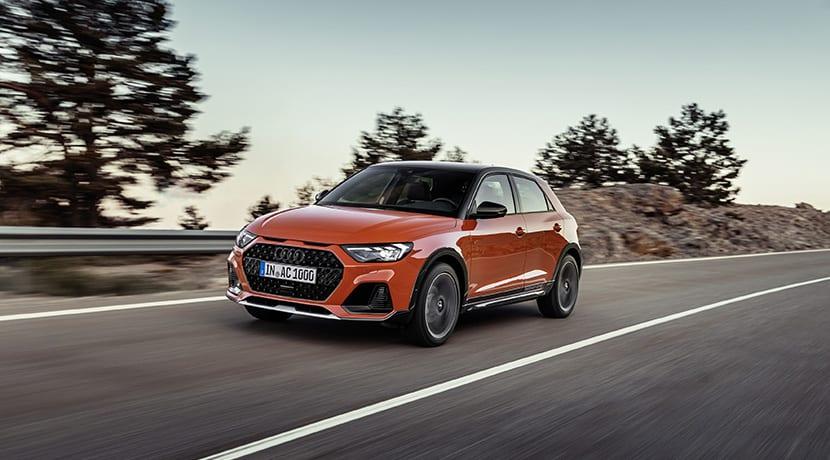 Audi A1 Citycarver dinámica delantera
