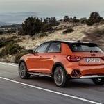 Audi A1 Citycarver dinámica trasera
