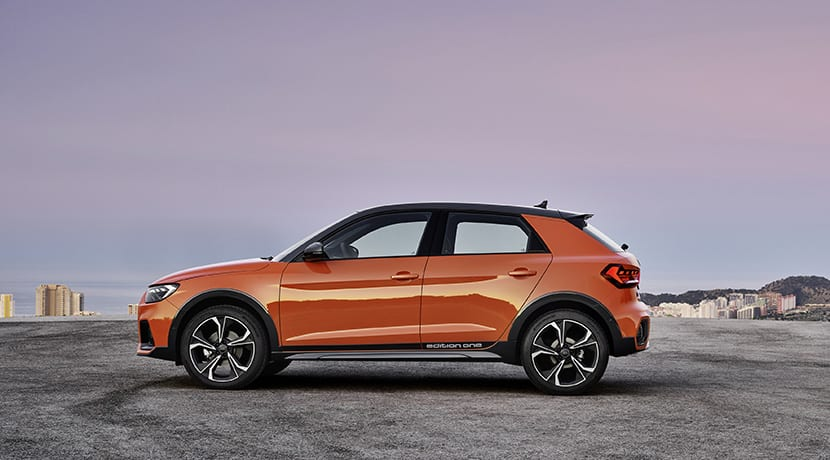 Audi A1 Citycarver lateral