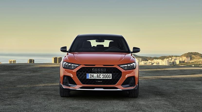 Audi A1 Citycarver delantera
