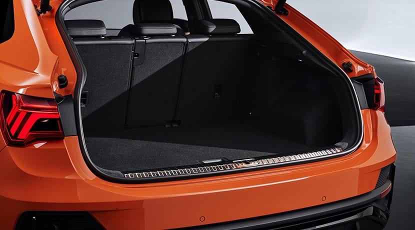 Audi Q3 Sportback maletero