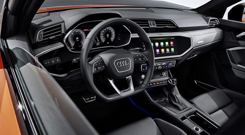 Audi Q3 Sportback puesto conducción