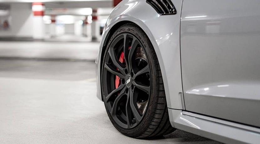 ruedas y frenos Audi RS 3 preparado por ABT hasta los 470 CV