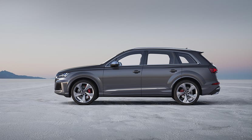Audi SQ7 TDI lateral