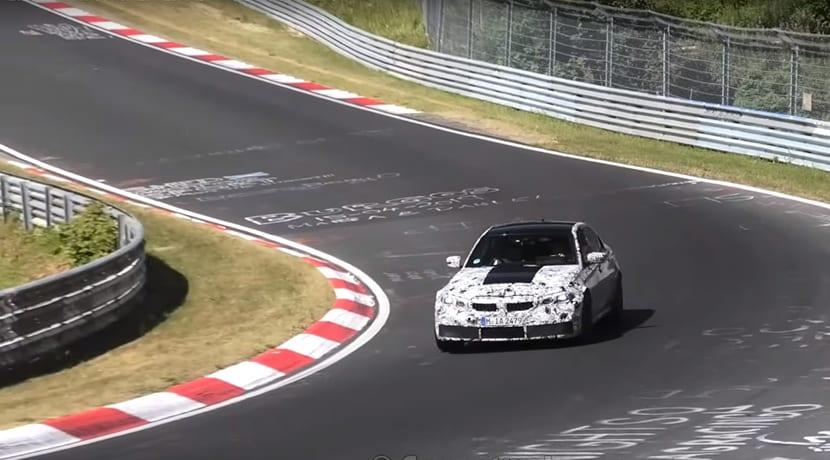BMW M3 camuflado Nürburgring