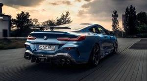 Trasera del BMW Serie 8 de AC Schnitzer