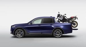 BMW X7 pick-up prototipo