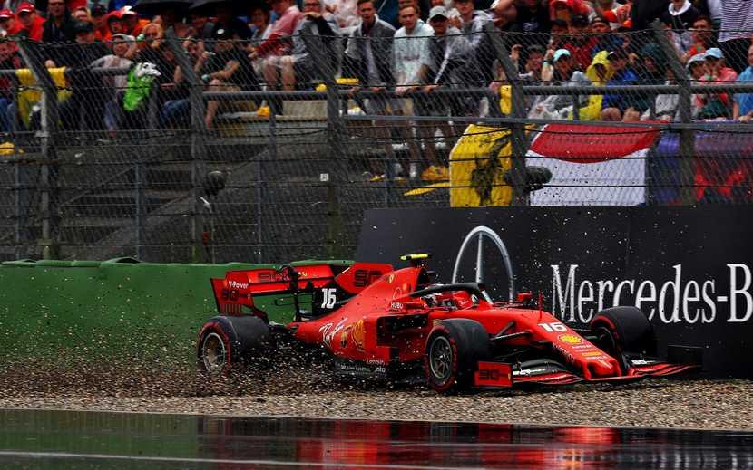 Charles Leclerc Ferrari GP de Alemania 2019