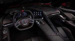 Chevrolet Corvette C8 interior
