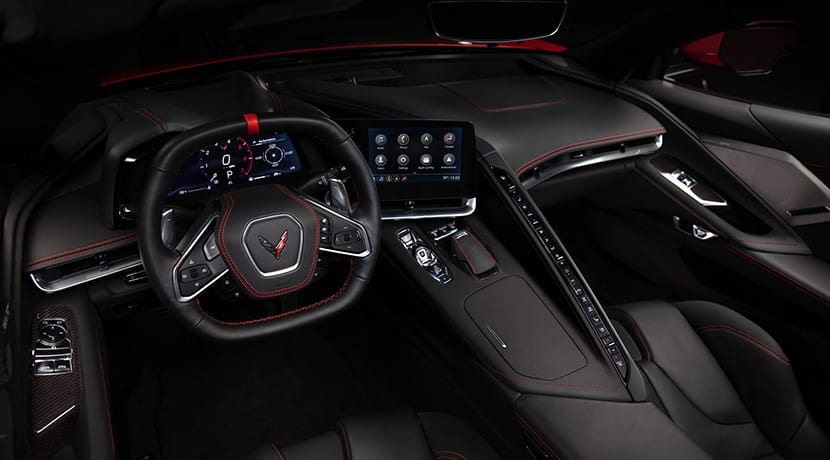 Chevrolet Corvette C8 interior
