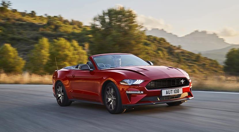 Ford Mustang convertible Ecoboost edición especial