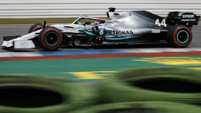 Mercedes en el GP de Alemania de 2019
