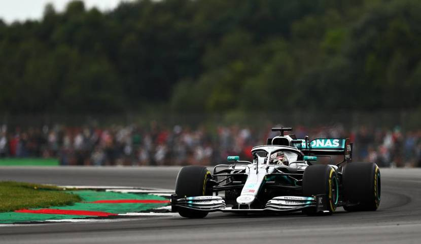 Mercedes en Silverstone 2019