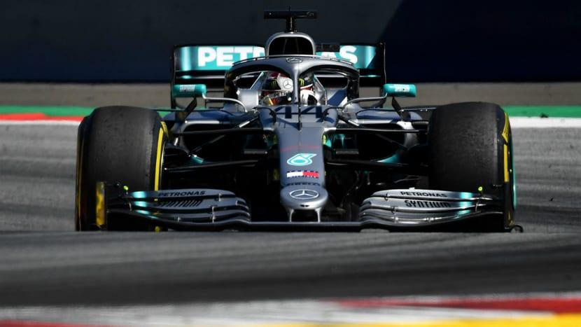 Mercedes de Hamilton en Silverstone 2019