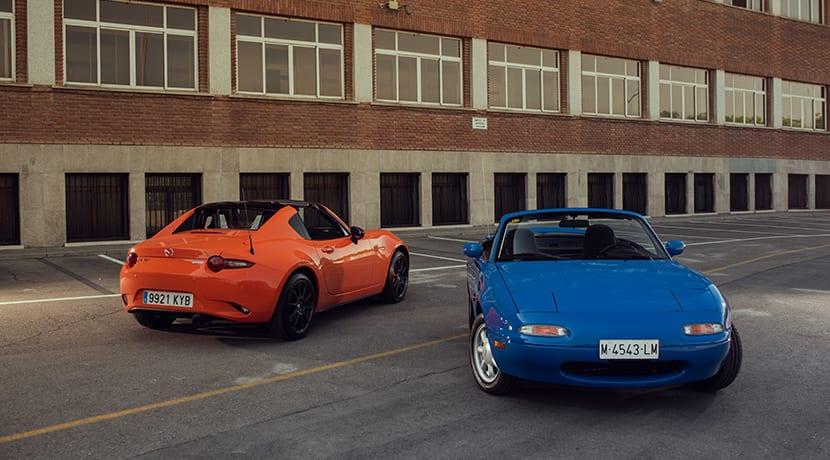 Mazda MX-5 30 aniversario y NA