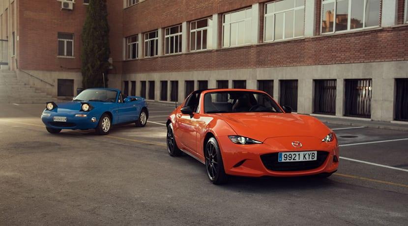 Mazda MX-5 30 aniversario y original