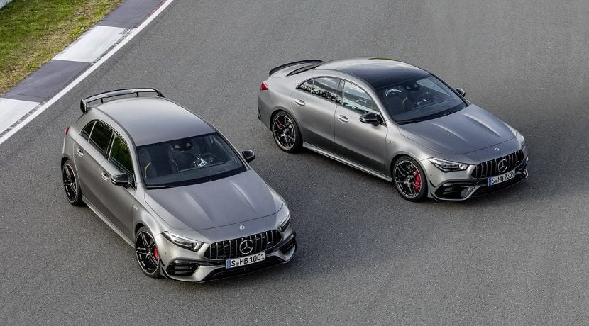 Mercedes AMG A 45 y CLA 45
