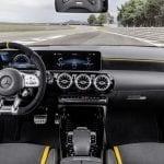 Interior del Mercedes AMG A 45