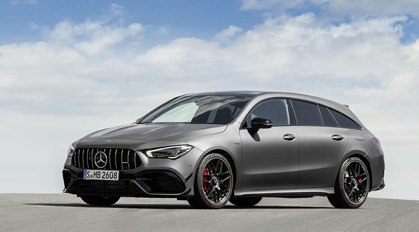 Mercedes-AMG CLA 45 Shooting Brake perfil delantero