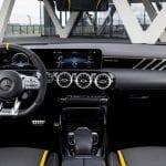 Interior del Mercedes AMG CLA 45