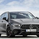 Mercedes-AMG CLA 45 Shooting Brake frontal