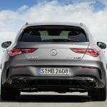 Parte trasera Mercedes-AMG CLA 45 Shooting Brake