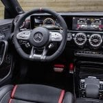 Mercedes-AMG CLA 45 Shooting Brake interior