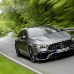 Mercedes-AMG CLA 45 Shooting Brake dinámica