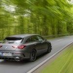 Mercedes-AMG CLA 45 Shooting Brake dinámica