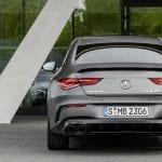Trasera del Mercedes AMG CLA 45