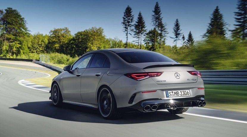Alerón del Mercedes AMG CLA 45