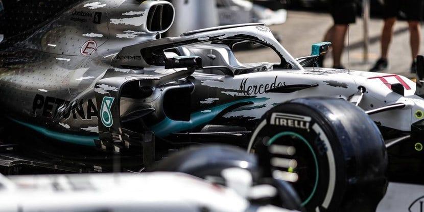 Mercedes nueva decoración para GP de Alemania de F1 2019