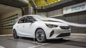 Opel Corsa aerodinámica