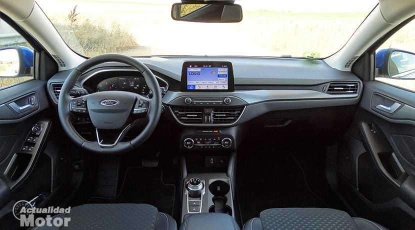 Prueba Ford Focus Sportbreak salpicadero