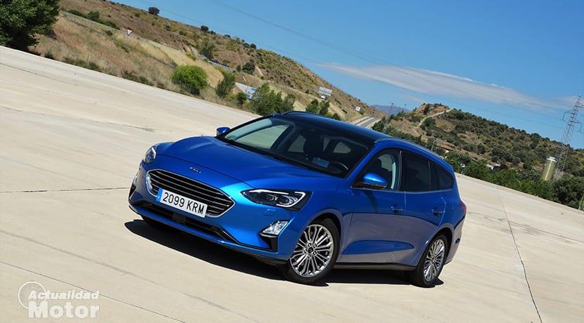 Prueba Ford Focus familiar diésel