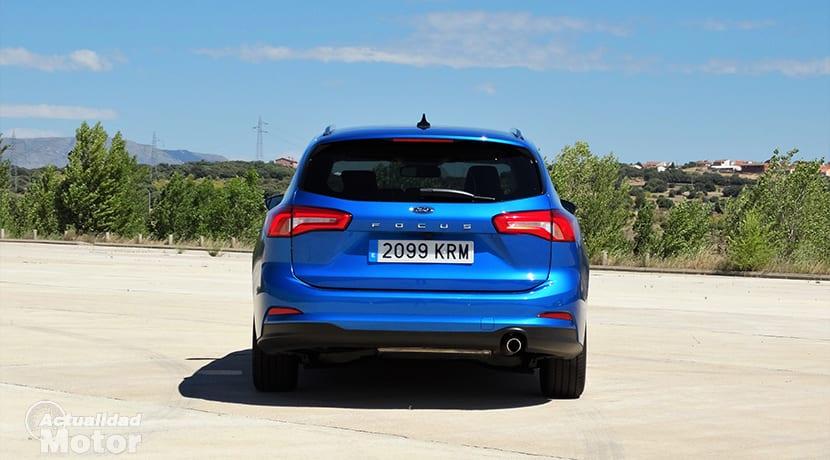Prueba Ford Focus Sportbreak parte trasera