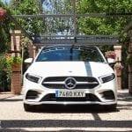 Prueba Mercedes Clase A Sedán frontal