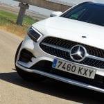 Prueba Mercedes Clase A Sedán detalle parrilla