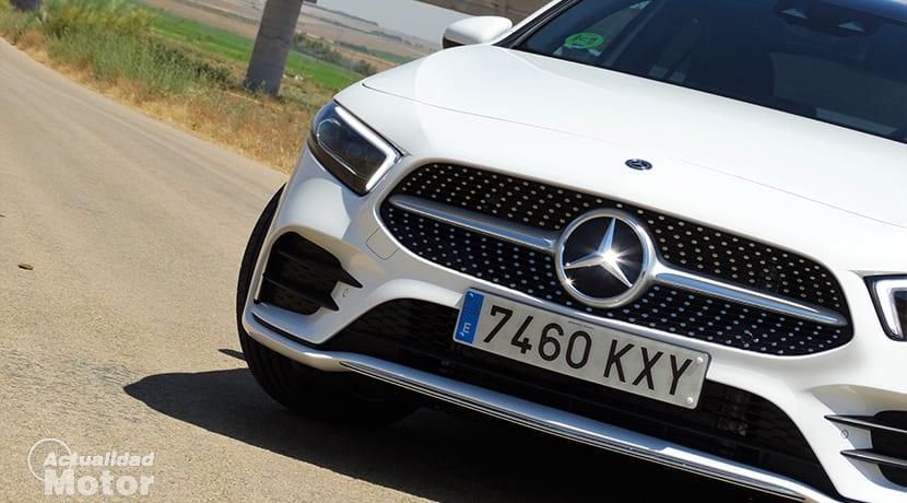 Mercedes Clase A Sedán prueba
